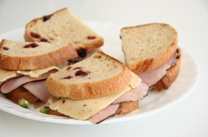 Sandwich with Havarti Cheese